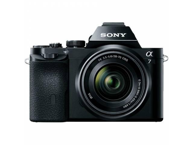 Цифровая фотокамера Sony Alpha 7 + объектив 28-70 KIT