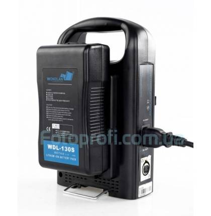 Зарядное устройство Wondlan WDL-2KS для 2 аккумуляторов V-mount