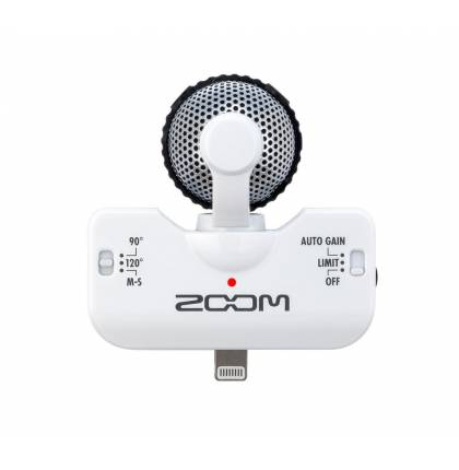 Микрофон Zoom iQ5 White